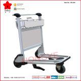 Chariot à bagage d'aéroport d'acier inoxydable avec les roues et le frein (OW-GS-250)