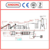 씻기 및 Dewatering 및 Drying Cleaning Recycling Machine Line