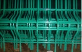 PVC에 의하여 입히는 직류 전기를 통한 용접된 철망사 담