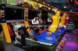 """машина видеоигры имитатора автомобильной гонки зрелищности прогара 47 """" 4D популярной люкс управляемая монеткой"""