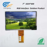 "7 "" индикация экрана LCD поверхности стыка 50 Pin RGB"