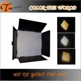 Indicatore luminoso professionale del video dello schermo piatto LED di fotographia dello studio