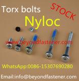 Vite di Bule Nyloc della vite di macchina della vite della dentellatura della vite di Nyloc della vite Torx