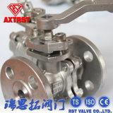 API/DIN de van een flens voorzien Kogelklep van het Roestvrij staal 2PC