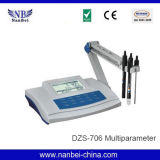 Medidor da qualidade de água do multiparâmetro da Banco-Parte superior do laboratório