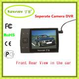 Câmera dupla da visão noturna separada da câmera DVR H 264