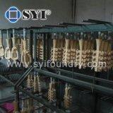 常置型のアルミ鋳造