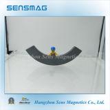 Kundenspezifischer großer Lichtbogen-Ferrit-Magnet für Motor, Bremse
