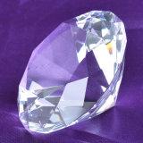 Драгоценность диаманта розового драгоценного камня стеклянная кристаллический для декоративной