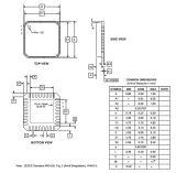 Circuito integrado capacitivo Atmel do sensor CI At42qt1111-Mu do toque
