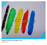 5*14ml Common Color Tempera Paint met Brush voor Students en Kids