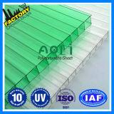 Feuille nuisible de polycarbonate de rayonnement UV de blocs