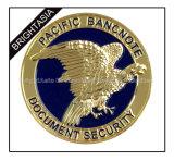 주문을 받아서 만드십시오 Epoxy (BYH-10852)를 가진 Diamond Edge를 가진 Souvenir Coin를