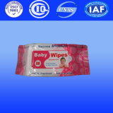 Natte de baby veegt met Nat Weefsel Spunlace van de Producten van China af