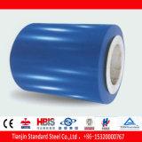 El PE azul del zafiro de Ral 5003 cubrió la bobina de acero PPGI