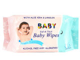 80PCS Soft Thick Baby Skin Wipes Fresh Scented Wet Tissue Cina Supplier