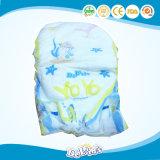 짠것이 아닌 Topsheet 및 누출은 처분할 수 있는 아기 기저귀를 감시한다
