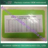 Kit dell'assortimento della gomma di silicone del fluoro