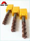 Cortador de trituração Toroidal do carboneto de tungstênio HRC55