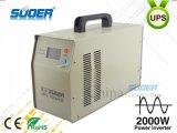 Inversor puro solar de la onda de seno del inversor 2000W del cargador de la UPS de Suoer (HPA-2000C)