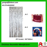 Metaal Gordijn voor Huwelijk/Kerstmis/Vakantie Decoratin