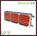 Langes Copper Tube Fin Radiator mit Galvanized Board