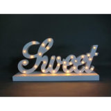 LED Christmas Decorative Lights Made del MDF