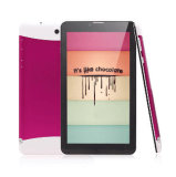 "7 "" tablette PC de l'avant 2.0MP/Rear 5.0MP 1GB/8GB Phablet de faisceau de quarte de Mtk 8382"