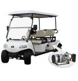 Carrelli di golf elettrici con il generatore ibrido, 4 sedi