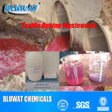 Agua Decoloring Agent para Industries Effluent Color Removal