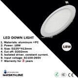 Cer u. RoHS Approvalled 18W LED runde Instrumententafel-Leuchte mit externem Fahrer