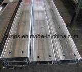 Purlin formé à froid d'acier de forme de C utilisé par fabrication en acier