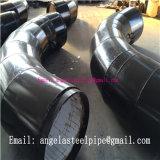 Instalaciones de tuberías espirales de acero del tubo del codo del tubo de aire de la fuente de Munafacture