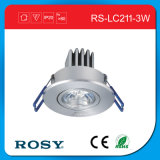 Dinero ligero antiusura del aluminio LED que salva la luz de techo moderna