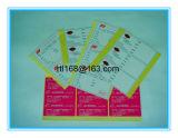 Kunstdruckpapier-heißer Schmelzkleber-Aufkleber
