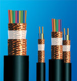 Câble de commande examiné protégé par tressage de câblage cuivre de basse tension