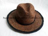 [بروون] لون رافية تبن سفريّ قبّعة