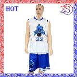 Nuevos uniformes del baloncesto de las bolas de los jerseys del diseño de la manera