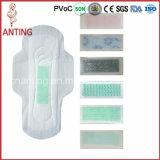 Сухая поверхностная оптовая продажа 2016 повелительницы санитарной салфетки аниона