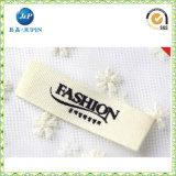 Escritura de la etiqueta tejida escritura de la etiqueta tejida barata del cuello del paño 2016 para el producto de la ropa (JP-CL094)