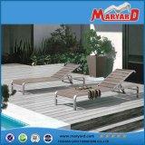 Fainéant extérieur moderne de Sun d'acier inoxydable de meubles de patio