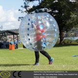 TPU PVC物質的な牧草地の膨脹可能で豊富な球