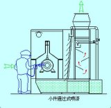 Máquina automática cheia da limpeza ultra-sônica para as peças de automóvel Kdq-2 (F5)