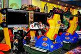 "47 "" 4D焼損の普及した催し物のデラックスなカーレースの硬貨によって作動させるシミュレーターのビデオゲーム機械"