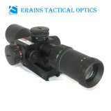 Compact 2.5-10X32 Rifle Scope Red Green Mil-DOT Reticulo com Side Attached Red Laser Sight Combo (certificado pela FDA)