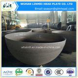 Protezioni cape servite emisferi dell'estremità del tubo del acciaio al carbonio