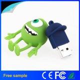 Disco istantaneo del USB del PVC Memorry 1-128GB di disegno del fumetto