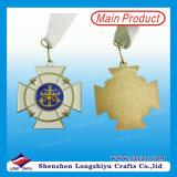 金属はカスタマイズされたロゴの彫版が付いているメダルを遊ばす