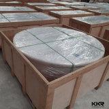 Vasche da bagno di superficie solide acriliche della pietra della resina di nuovo arrivo per l'hotel