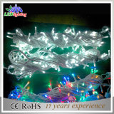 Connectable屋外の10m 22# Transparent PVC Wire LED Fairy String Lights